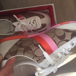 Size 10 Womens Coach sneakers